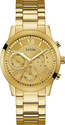 Acotis Limited Guess Watches Guess Ladies Gold Watch Champagne Chrono Look Dial W1070