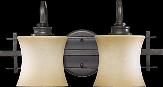 Quorum Prairie 2 Light Wall/Bracket in Toasted Sienna