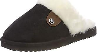 228242e01aff28 Tom Tailor Damen 5892201 Pantoffeln Schwarz (Black 00001) 39 EU