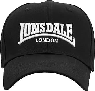 Lonsdale Unisex Cap Wigston, Color:Black, Size:one Size