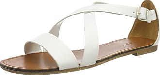 Vagabond Womens Tia Ankle Strap Sandals, (White 01), 6.5 UK