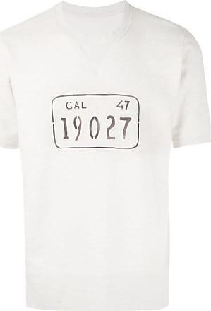 Visvim Camiseta com estampa - Cinza