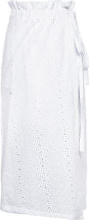 Isabella Fiorentino x OQvestir Saia Laise Midi Isabella Fiorentino para oqvestir - Off white
