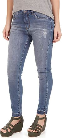 SideWalk Calça Jeans Cigarrete - Azul Jeans - Tamanho 40