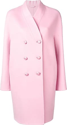 Ermanno Scervino double breasted midi coat - Pink