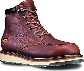 Timberland PRO Mens Gridworks Moc Soft Toe Waterproof Industrial Boot, Brown, 10.5 M US