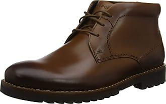 Rockport Mens Marshall Chukka Boots, Brown (Cognac 002), 13.5 (49 EU)