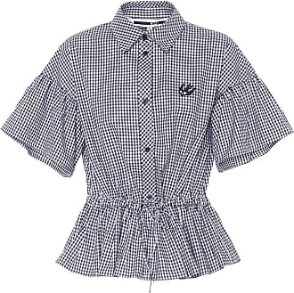 McQ by Alexander McQueen Gingham cotton blouse