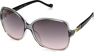 Jessica Simpson Womens J5675 Smrs Non-Polarized Iridium Round Sunglasses, Smoke Rose, 65 mm