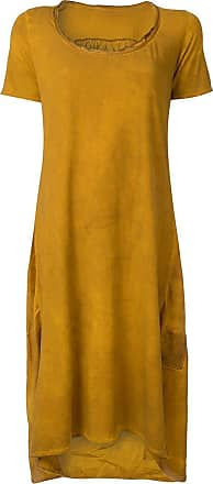 Uma Wang high low T-shirt dress - Brown