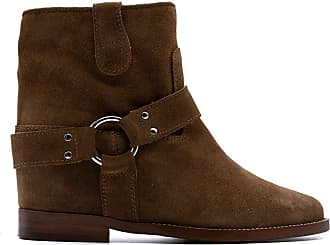 Via Roma 15 Fashion Woman 3255086VELOURMARTORA Brown Suede Ankle Boots | Spring Summer 20