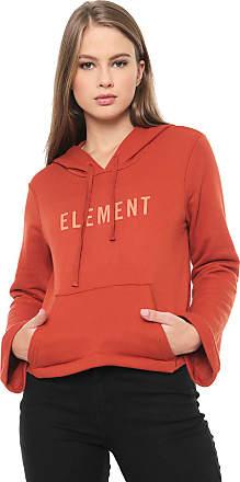 Element Moletom Fechado Element Logo Caramelo