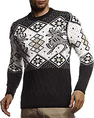 Weihnachtspullover für Herren in Schwarz » Sale: bis zu −66