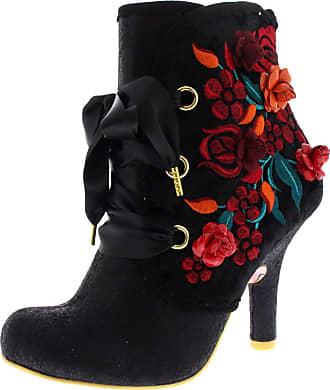 Irregular Choice Womens Autumn Harvest Ankle Boots, Black (Black), 4 UK 37 EU