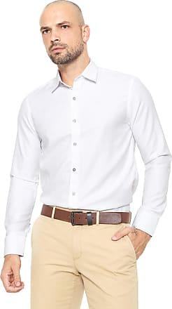 Zune Jeans Camisa Zune Reta Estampada Branca