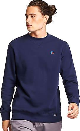 Russell Athletic Mens Frank Crew Sweatshirt, Navy, XL