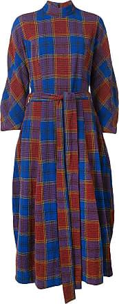 Henrik Vibskov roll neck dress - Di colore blu