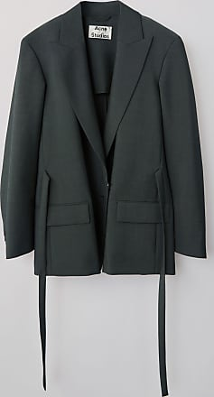 Acne Studios FN-WN-SUIT000057 Green Belted jacket