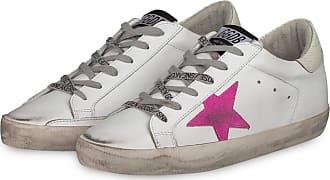 Golden Goose Sneaker SUPERSTAR - WEISS/ PINK