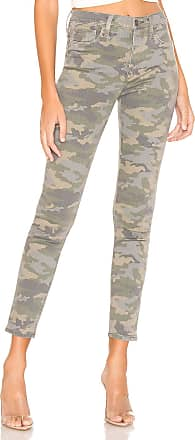 Hudson Barbara High Waist Super Skinny in Surplus Camo