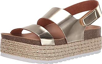 269384d29b65 Dirty Laundry by Chinese Laundry Womens Peyton Espadrille Wedge Sandal Gold  Metallic 6 M US