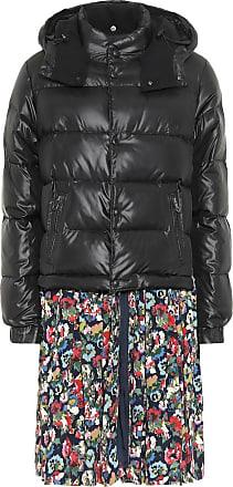 Junya Watanabe Down jacket floral midi dress