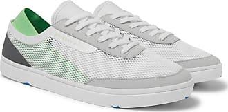 Orlebar Brown Larson Panelled Mesh Sneakers - White
