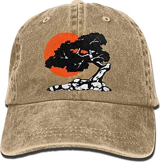 Not Applicable Clothing Fast Dry Skull Cap,Moisture Wicking Travel Cap,Fitness Hip Hop Hat,Baseball Jeans Cap Bonsai with Sun Denim Jeanet Baseball Cap Adjustable Dad Hat