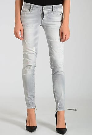 Dsquared2 11cm Destroyed and Spotted Jeans size 36