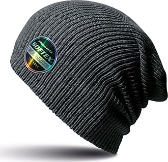 Result Winter Essentials Core Softex Beanie Hat (One Size) (Charcoal)