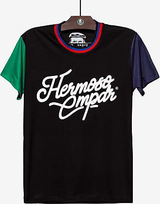Hermoso Compadre T-SHIRT MANGA COLORBLOCK PRETA 103976-Preto-GG