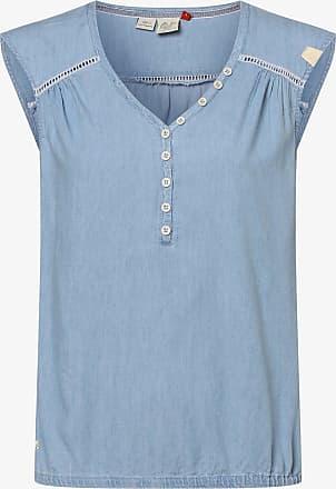 Ragwear Damen Top - Salty Denim blau