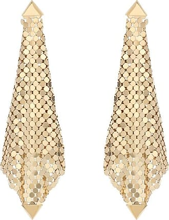 Paco Rabanne Mesh drop earrings
