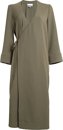 Ganni Heavy Crepe Blazer Dress - Green