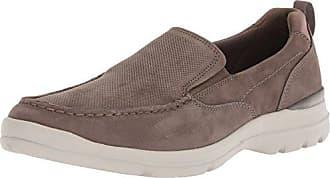 Rockport Mens City Edge Slip On Shoe, taupe nubuck, 10.5 W US