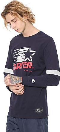 Starter Camiseta Starter Star Retrô Azul-marinho