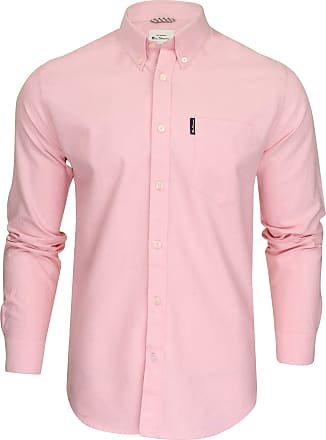 Ben Sherman Mens Pink Casual Shirt in LGE to XXXL Signature