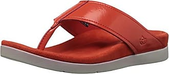 Spenco Womens Hampton Sandal Flip-Flop, Cherry Tomato, 5 Medium