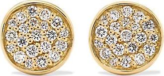 Ippolita Stardust 18-karat Gold Diamond Earrings