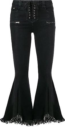 Jovonna London Calça jeans flare Yoyo - Preto