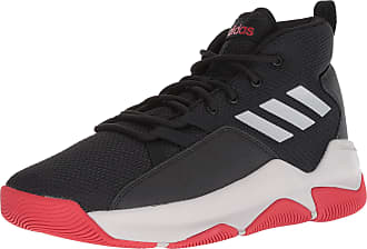 low priced 432a8 914b4 adidas Mens Streetfire Basketball Shoe, Black Grey Scarlet, 9.5 M US