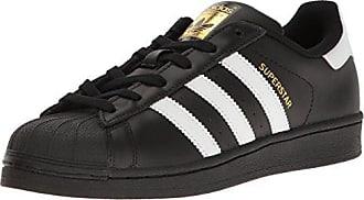 adidas Originals Womens Shoes | Superstar Fashion Sneakers, Black/White/Metallic/Gold, 11 M US