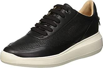 Geox sneaker regina b in suede e vernice 7 colore nero