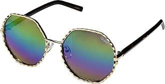 Quay Eyeware Breeze In (Gold/Purple Rainbow) Fashion Sunglasses