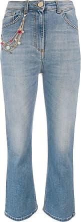 Elisabetta Franchi kick flare jeans - Blue