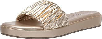 Katy Perry Womens The Lizzie Slide Sandal, Champagne, 6.5 UK
