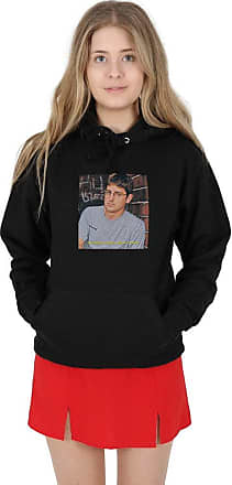 Sanfran Clothing Sanfran - My Money Doesnt Jiggle It Folds Louis Theroux Hoody Hoodie - Extra Large/Black