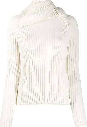 Y / Project ribbed knit sweater - Branco