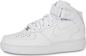 buy popular f3854 e8149 Nike Homme Air Force 1 Mid 07 Blanche Baskets