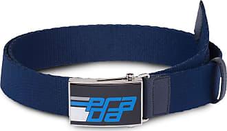 Prada Cinto OMA com logo - Azul